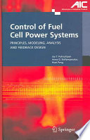 Control Of Fuel Cell Power Systems Book PDF
