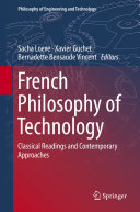 French Philosophy of Technology