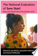 The National Evaluation of Sure Start
