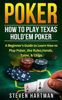 Poker: How to Play Texas Hold'em Poker Pdf/ePub eBook