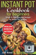 Instant Pot Cookbook For Beginners Book PDF