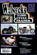 WALNECK S CLASSIC CYCLE TRADER  MARCH 2001