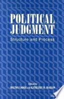 Political Judgment Book