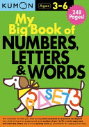 My Big Book of Numbers  Letters   Words