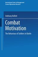 Combat Motivation Pdf/ePub eBook