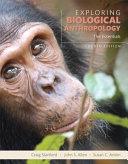 Exploring Biological Anthropology Book PDF