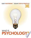 """""""What is Psychology?"""" by Ellen E. Pastorino, Susann M Doyle-Portillo"""