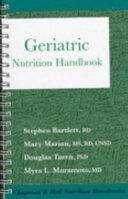 Chapman Hall Nutrition Handbooks Geriatric Nutrition Handbook Book PDF