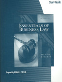 Study Guide For Mann Roberts Essentials Of Business Law And The Legal Environment Book