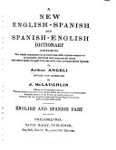 Pdf A New English-Spanish and Spanish-English Dictionary...