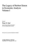 The Legacy of Herbert Simon in Economic Analysis