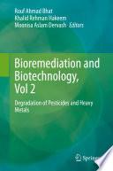 Bioremediation and Biotechnology, Vol 2