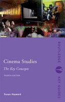 Cinema Studies: The Key Concepts