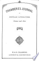 Chamber s Journal of Popular Literature  Science and Arts Book