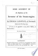 Some Account Of The Residence Of The Inventor Of The Steam Engine Book PDF