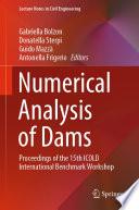 Numerical Analysis of Dams
