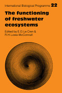 Cover image of The Functioning of freshwater ecosystems