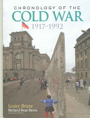 Chronology of the Cold War  1917 1992