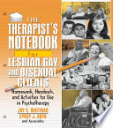 The Therapist S Notebook For Lesbian  Gay  And Bisexual Clients