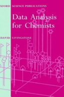 Data Analysis for Chemists Book