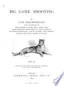 Big Game Shooting