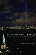 Pdf Confronting Terror