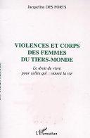 Pdf VIOLENCES ET CORPS DES FEMMES DU TIERS-MONDE Telecharger