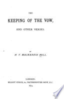 The Keeping of the Vow