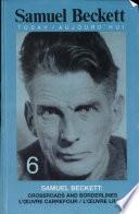 Samuel Beckett l   vre carrefour l   uvre limite