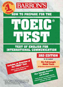 Barron's How to Prepare for the Toeic Test
