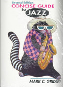 Concise Guide to Jazz and Demonstration Cassette Value Pack Book