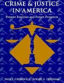 Crime   Justice in America Book