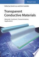 Transparent Conductive Materials