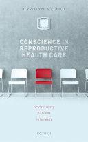 Conscience in Reproductive Health Care Pdf/ePub eBook
