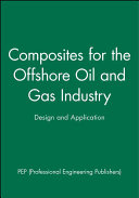 Composites For The Offshore Oil And Gas Industry Book PDF