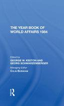 The Year Book Of World Affairs 1984 Pdf/ePub eBook