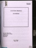 Country Profile Zanzibar