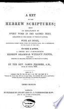 A Key to the Hebrew Scriptures