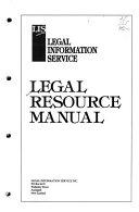 Legal resource manual