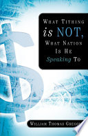 What Tithing Is Not What Nation Is He Speaking To