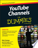 Youtube Channels For Dummies Book