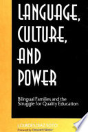 Language  Culture  and Power