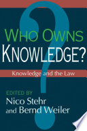 Who Owns Knowledge