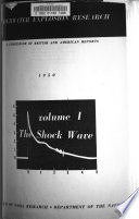 Underwater Explosion Research  The shock wave Book
