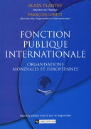 Pdf Fonction publique internationale Telecharger