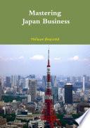 Mastering Japan Business Couverture Souple