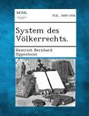 System Des Volkerrechts