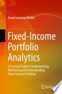 Fixed Income Portfolio Analytics Book