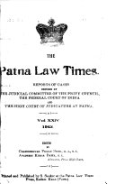The Patna Law Times