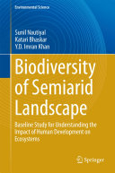 Biodiversity of Semiarid Landscape Pdf/ePub eBook